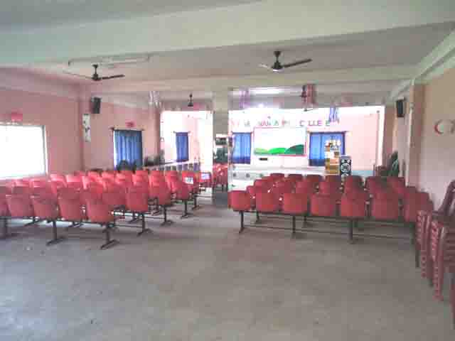 Provision for Multipurpose Hall in our College.